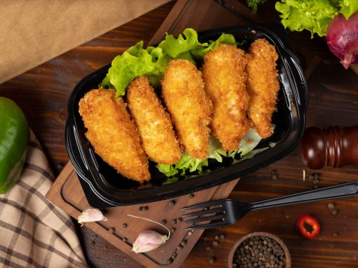 Oven fried pangasius fingers - Your everyday fish