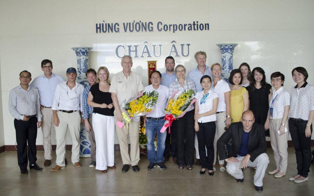 Die Kooperation zwischen den Niederlanden und Vietnam wird gestärkt.