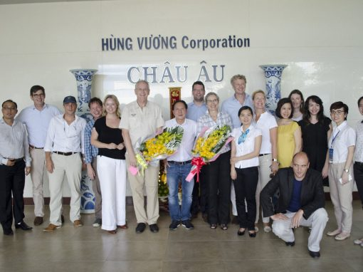 Cooperation between the Netherlands and Vietnam is strengthened.
